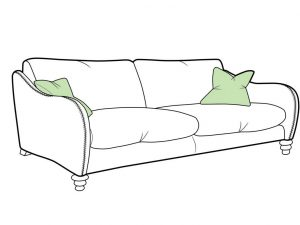 Biscotti Large Sofa