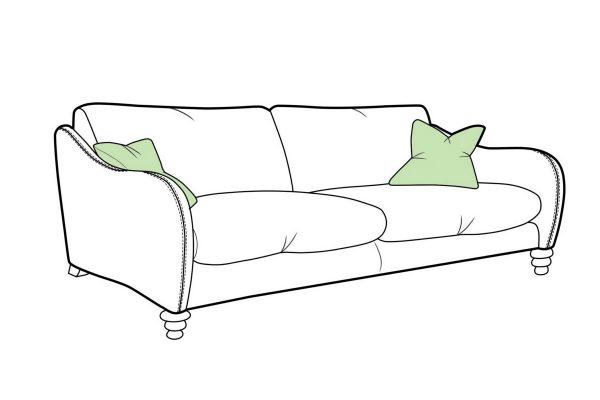 Biscotti Large Sofa