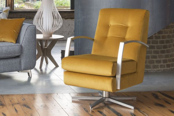 Sopha Custard Tart Swivel Chair