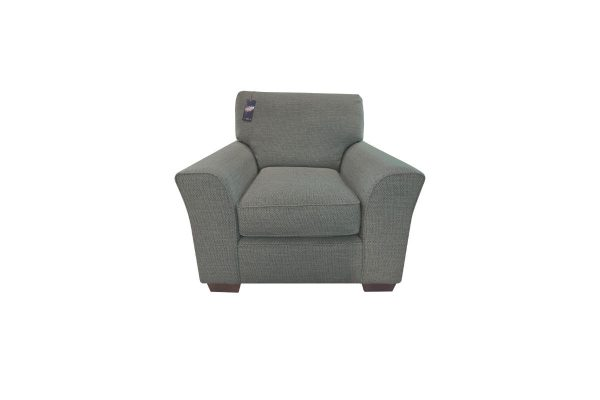 Flapjack Armchair in Mateo Teal