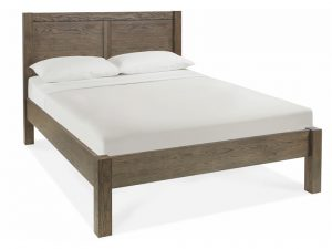 Sopha Avocado Double Panel Bedstead Dark Oak