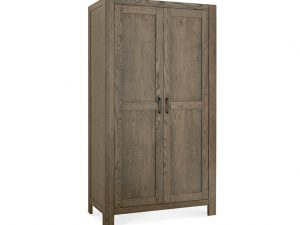 Sopha Avocado Double Wardrobe Chest Dark Oak