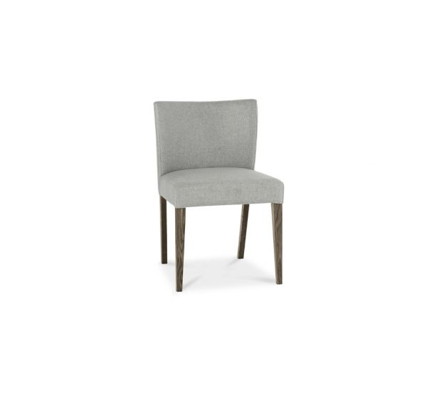 Avocado Low Back Chair Dark Oak Pebble Grey