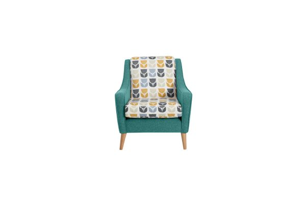 Banoffee Accent Chair