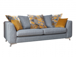 Custard Tart Extra Large Pillow Back Sofa