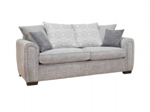 Galaxy 3 seater pillow back sofa