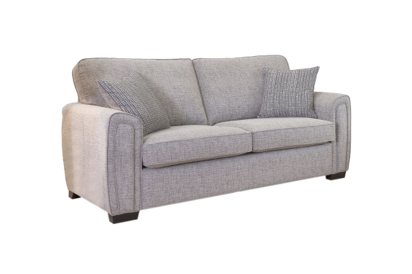 Galaxy 3 seater standard back sofa