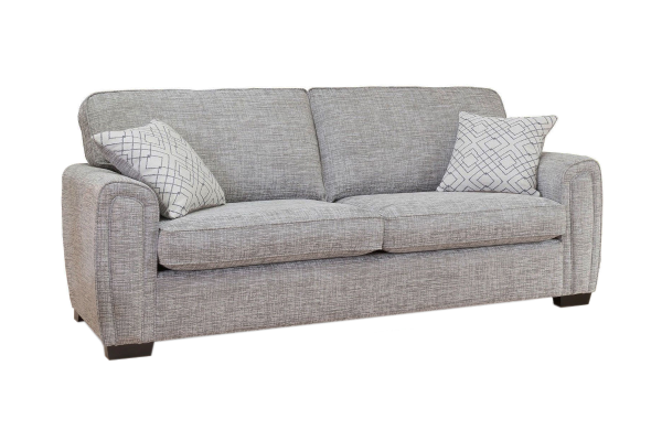 Galaxy 4 seater standard back sofa