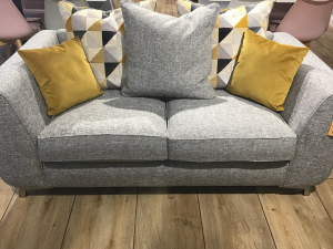 custard tart 2 seater pillowback sofa