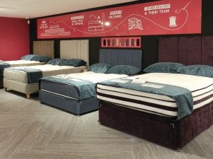 Sopha showroom mattresses