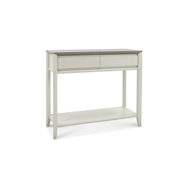 Sopha Nutmeg Console Table Two Tone