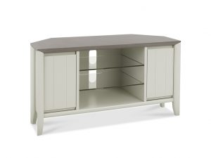 Sopha Nutmeg Corner Entertainment Unit Two Tone