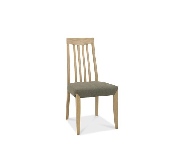Sopha Nutmeg High Back Chair Black Gold Oak