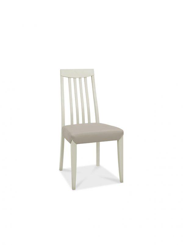 Sopha Nutmeg High Back Chair Grey Faux Leather