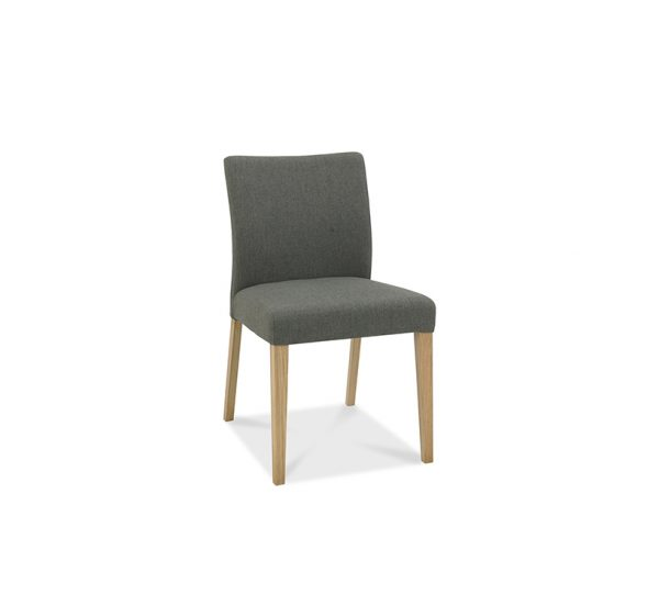 Sopha Nutmeg Low Back Chair Cold Steel Fabric