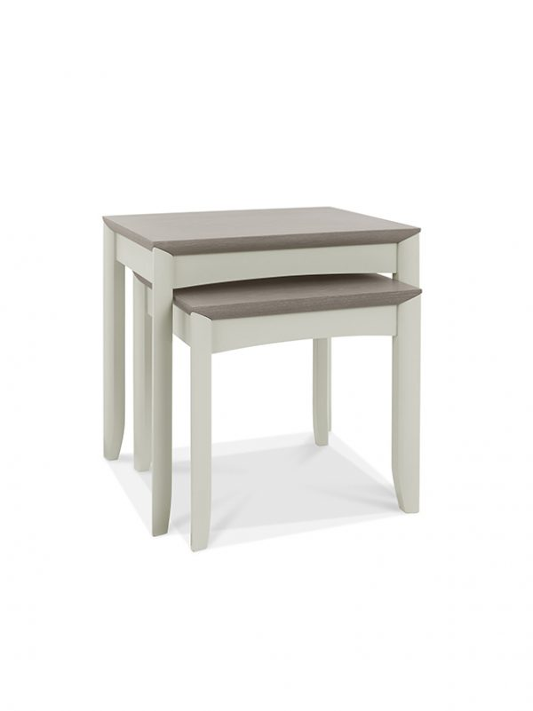 Sopha Nutmeg Nest of Tables Two Tone