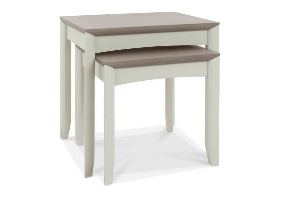 Sopha Nutmeg two tone nest of tables