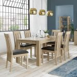 Avocado Light Oak dining Range