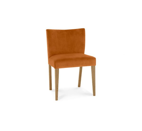 Sopha Avocado Low Back Chair Harvest Pumpkin Light Oak