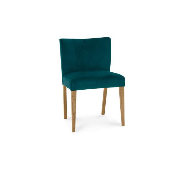 Sopha Avocado Low Back Chair Sea Green Light Oak