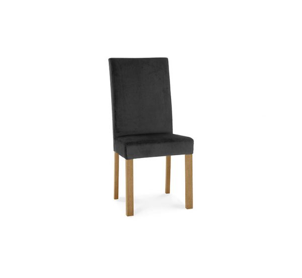 Sopha Avocado Square Back Chair Light Oak