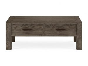Sopha Avocado Coffee Table With Drawers Dark Oak