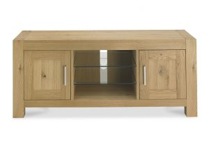 Sopha Avocado Entertainment Unit Light Oak