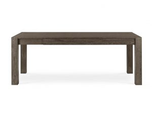 Sopha Avocado Medium End Extension Table Dark Oak