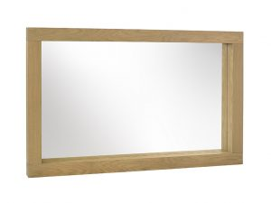 Sopha Large Avocado Mirror Light Oak W90 x L144 x H90