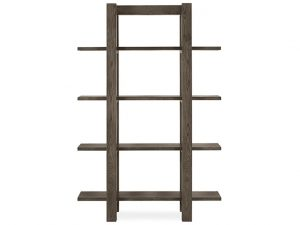 Sopha Avocado Open Shelf Unit Dark Oak