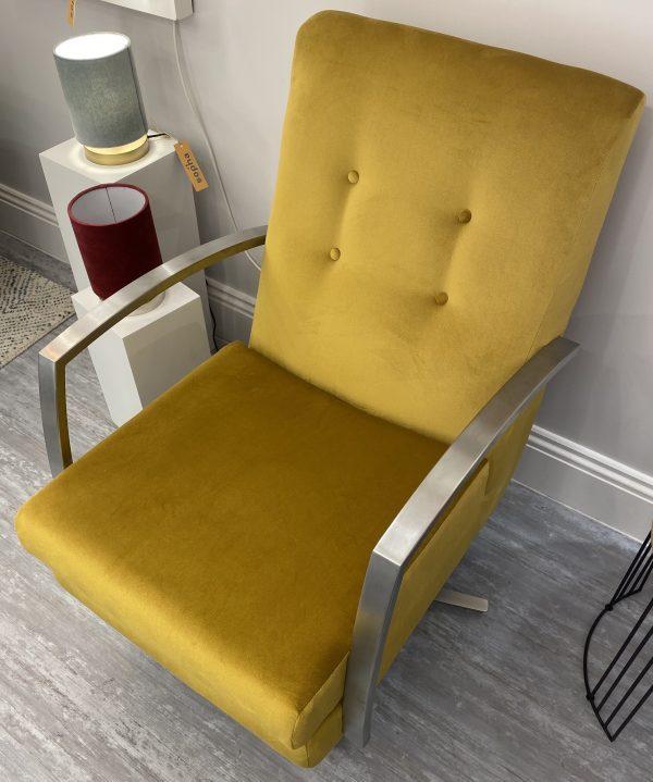 Custard Tart Swivel Chair