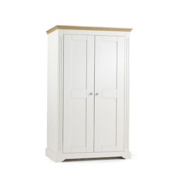 Elderflower 2 Door Wide Full Length Wardrobe
