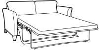 drizzle large sofa bed