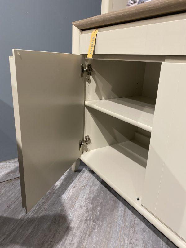 Cupboard door open