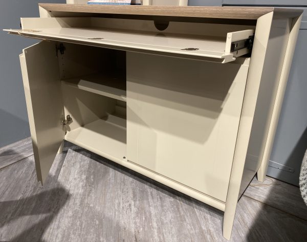 Sideboard with computer storage