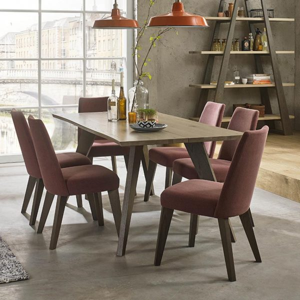 Pepper Aged Oak dining Range