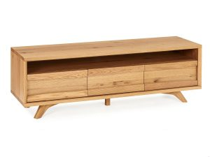 Sopha Pepper Entertainment Unit Rustic Oak