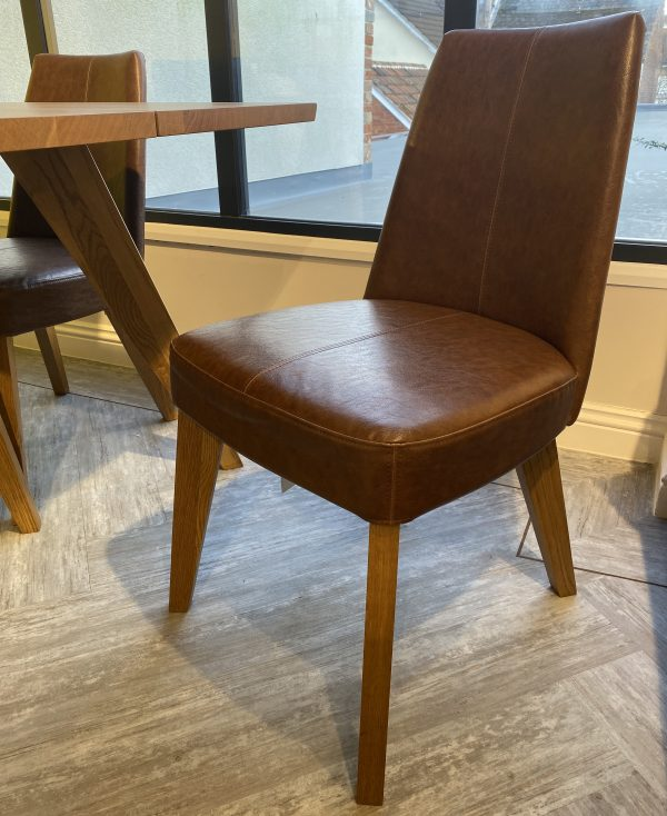 vegetarian leather chair