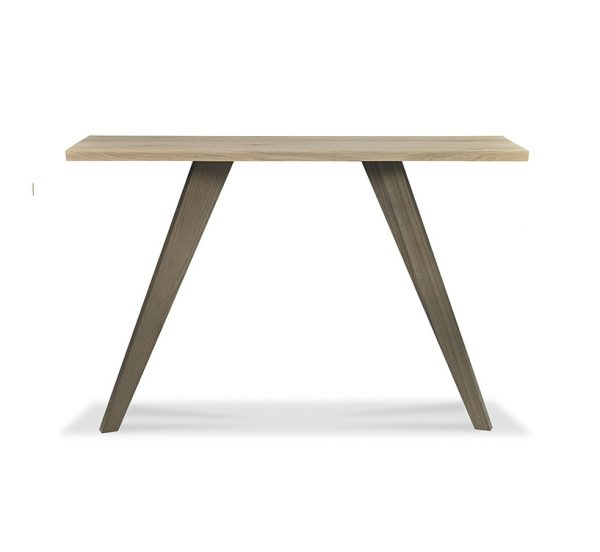Sopha Pepper Console Table Aged Oak