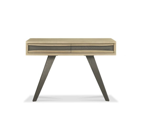 Sopha Pepper Console Table with Drawers Aged Oak
