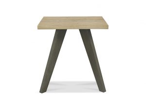 Sopha Pepper Lamp Table Aged Oak