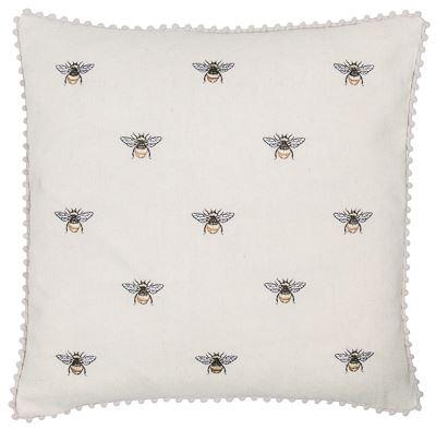 Pom Pom Bees Cushion 45x45