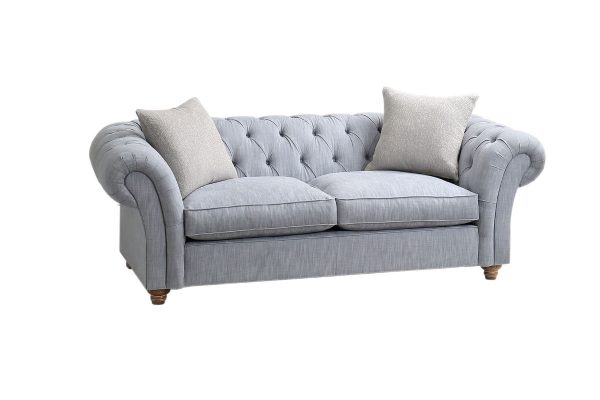 Popcorn Large Chesterfield Sofa
