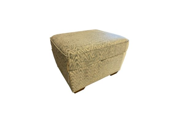 Popcorn Storage Footstool