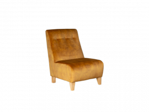 Rum N Rasin Armless Accent Chair