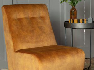 ice cream collection armless accent chair