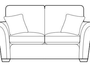 amaretti medium sofa