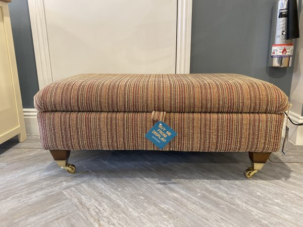 Teacake Footstool Front