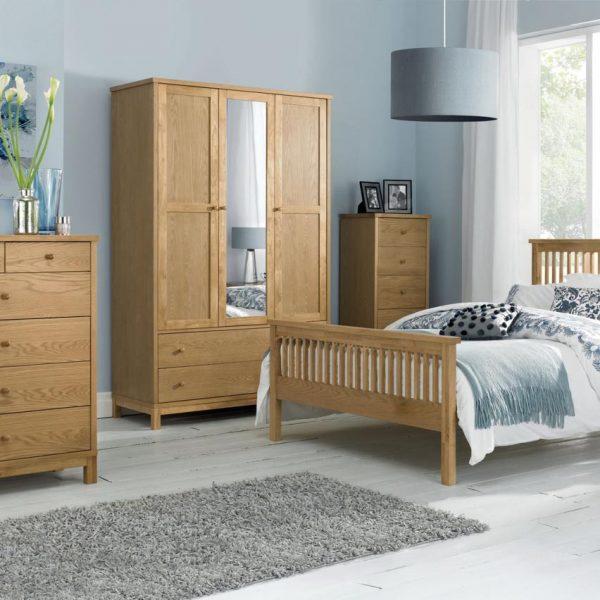 Thyme Bedroom Oak Range