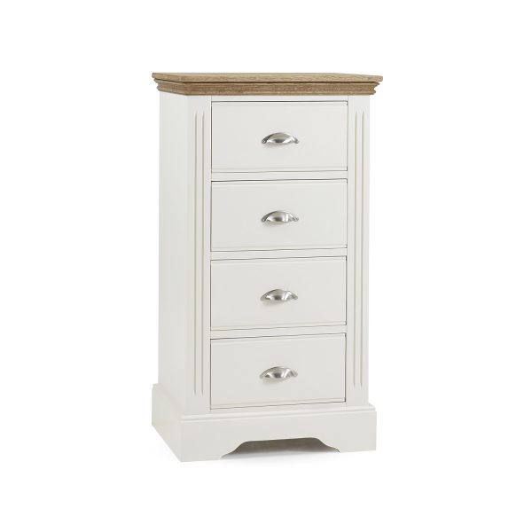 Elderflower 4 Drawer Wellington Chest
